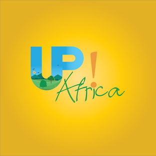 Up!-Africa logo design by Inkeemedia