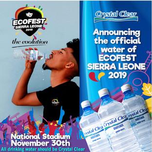 Crystal Clear Ecofest flyer by Inkeemedi