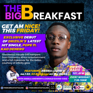 The Big Breakfast Get Am Nice with Drizilik by inkeemdia