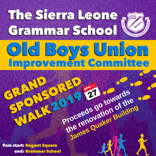 Grammar School Sponsored walk flyer by Inkeemedia