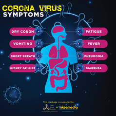 Corona Virus Flyer Inkeemedia + Think Af