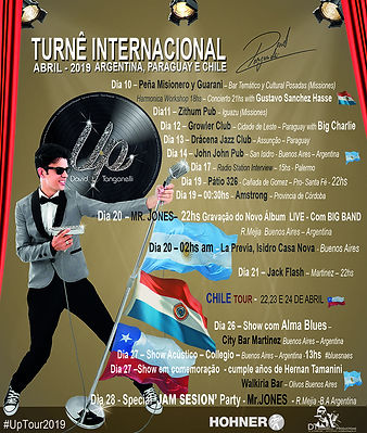 David Tanganelli - Inter Tour - Latin Am