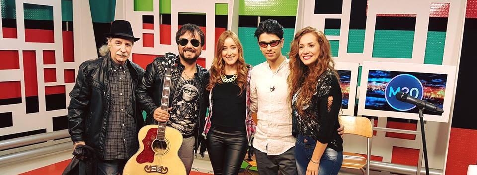 with Hernan Tamaninia and Carlos de Sabbato - TV Show - Buenos Aires - Argentina.