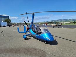 Sapphire Blue MTO17 - Rotax 914