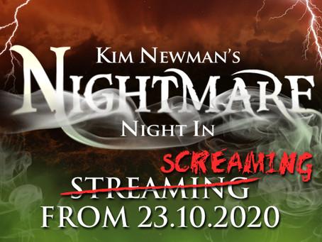 HalloSCREAM! 2020 #17 - Network presents Kim Newman's Nightmare Night In