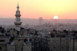 Aleppo, Syria - so close to destruction