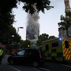 London Fire: Feared high death toll as blaze engulfs tower block
