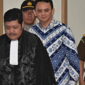 Jakarta governor Ahok jailed for blasphemy
