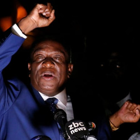 Zimbabwe's new leader Mnangagwa to be sworn in as President on Friday