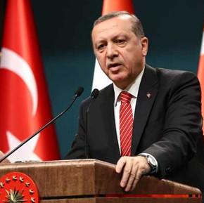 Turkey's Erdogan rebuffs NATO apology over 'enemy poster'