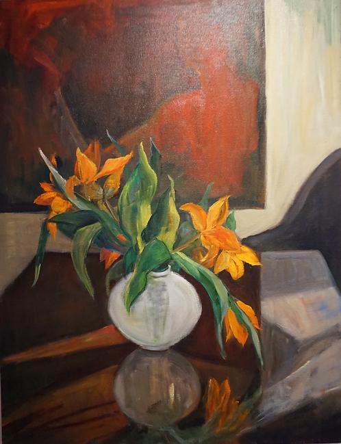 No. 20: White Vase