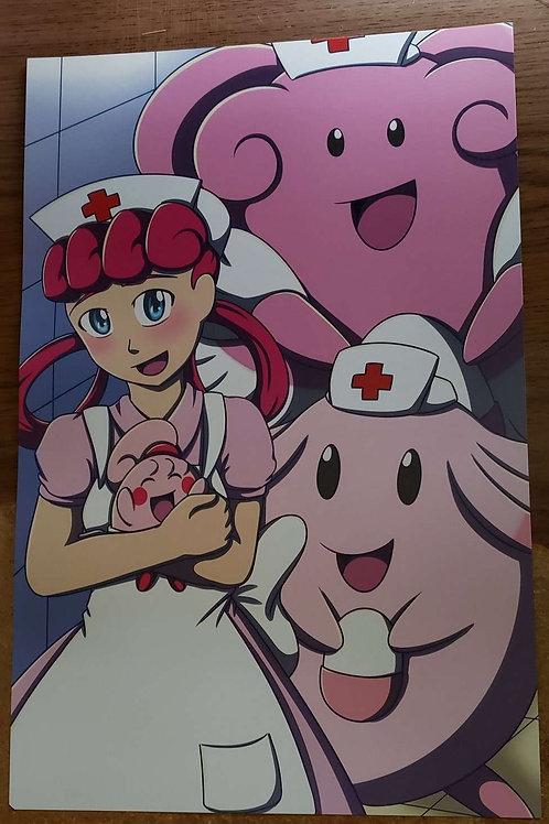 Nurse Joy and the Cheerfuls