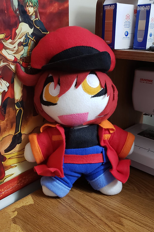 Cells At Work! Red Blood Cell Plush Doll