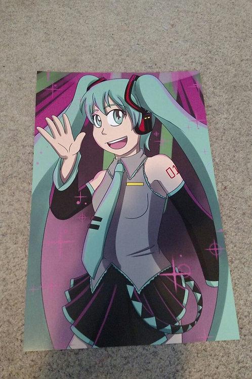 Hatsune Miku Print