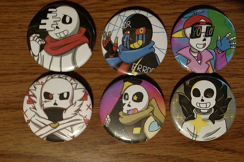 Alternate Skeletons Button Set