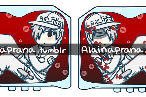 Cells At Work! White Blood Cell Charm