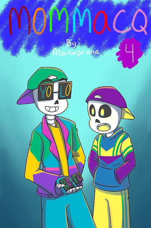 MommaCQ - Volume 4 (DIGITAL COPY)