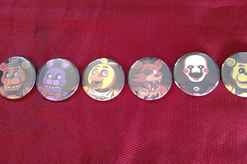 FNAF Buttons by Noko