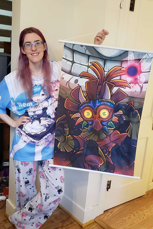 Majora's Mask Wall Scroll by Noko