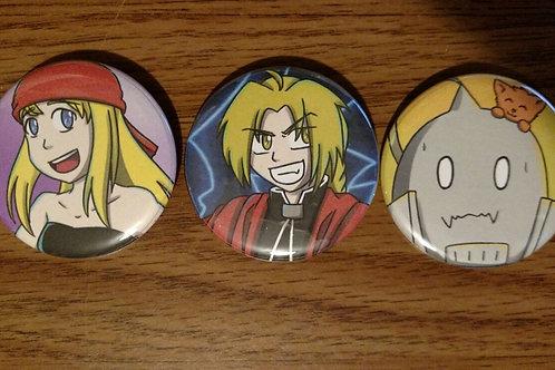 FMA Button Set