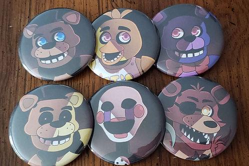 FNAF Button Set