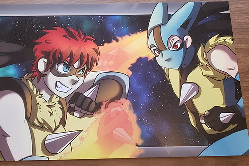 Lavi vs Akamotto Poster