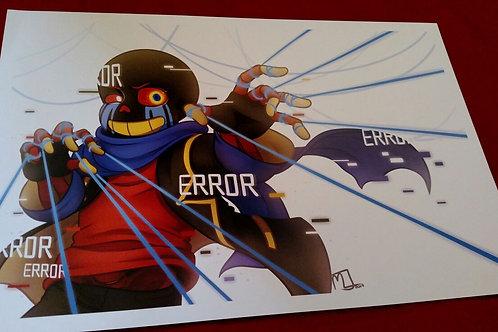 Lucidia Error Print by Noko