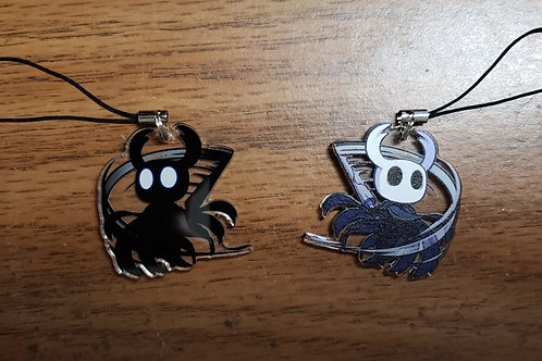 Hollow Knight Ghost Charm by Noko