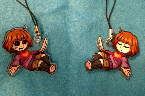 UnderDecay Frisk Charm by Noko