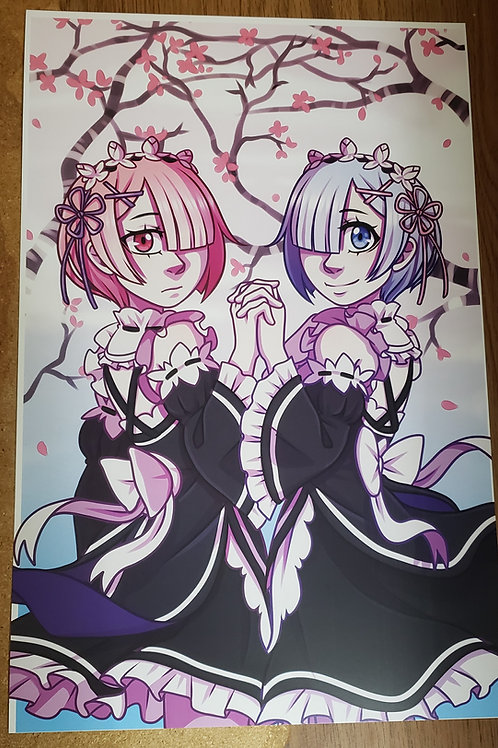 Rem and Ram by Noko