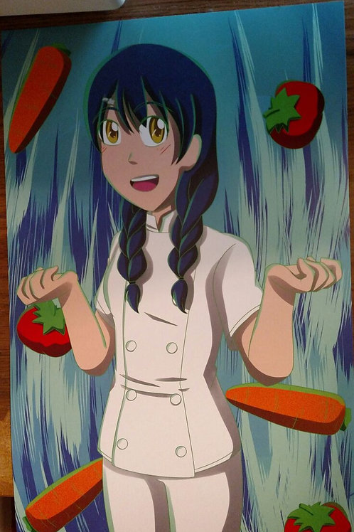Food Wars! Megumi!