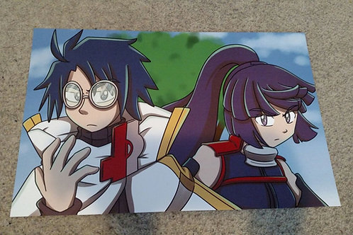 Shiroe and Akatsuki Print
