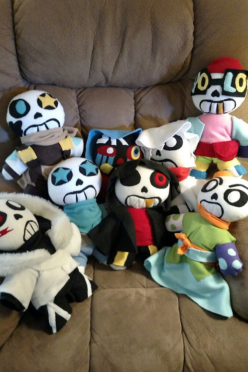 Custom Doll Plush (Examples Only! Please contact for orders)