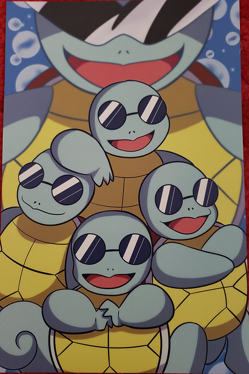 Squirtle Squad by Lana