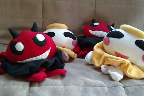 Angel and Devil Jellies Handmade Plush
