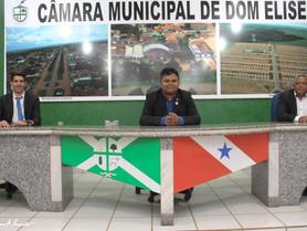 ELEITA A NOVA MESA DIRETORA DA CÂMARA MUNICIPAL DE DOM ELISEU