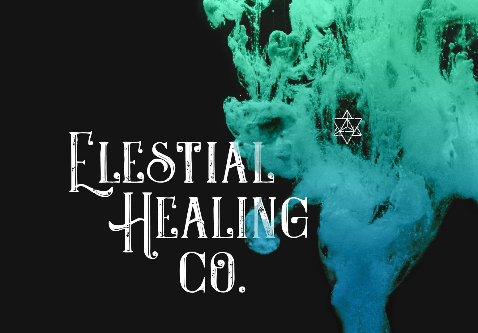 Elestial Healing Co. logo