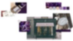 Busi brand design collage