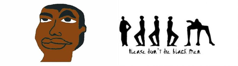 Please Don't Die Black Men (PDDBM) Logo