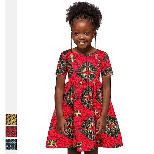 2021 New Style Ready To Ship Nigerian Girls Fashion Kitenge Clothing African wom