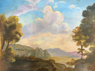 Ellis, C. A Section of Claude Lorrain's A Pastoral Landscape (2019)