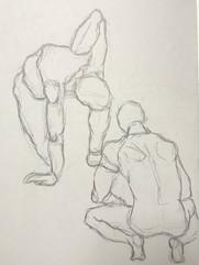 Ellis, C. Life Drawing I (2020)