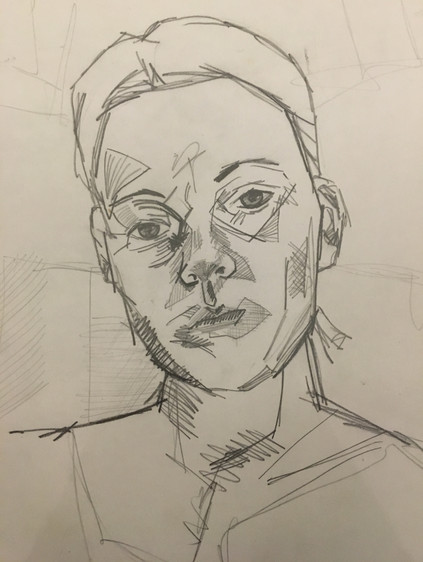 Ellis, C. Self-Portrait (2018)