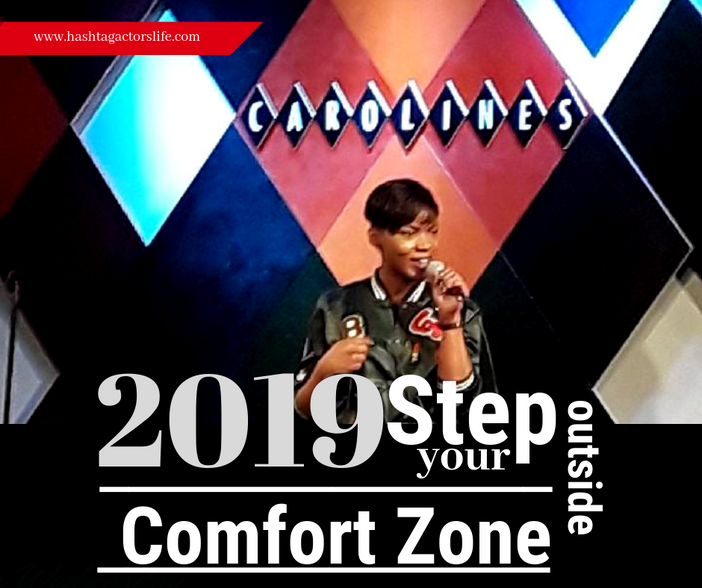 Step Beyond Your Comfort Zone