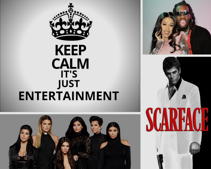 Keep Calm: It's Just Entertainment
