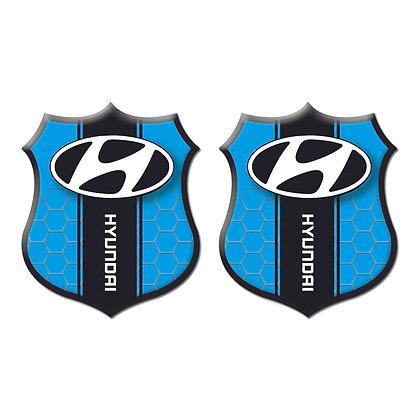 Hyundai Blue Shield x2pcs s.n:H0092