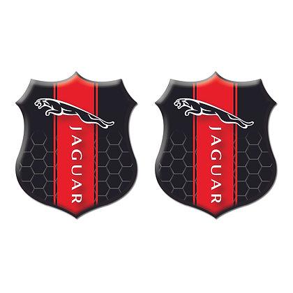 Jaguar Black Shield x2pcs s.n: J0102