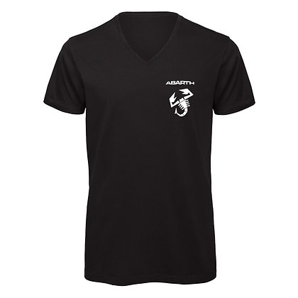 ABARTH Men's T Shirt V Neck s.n: A92127
