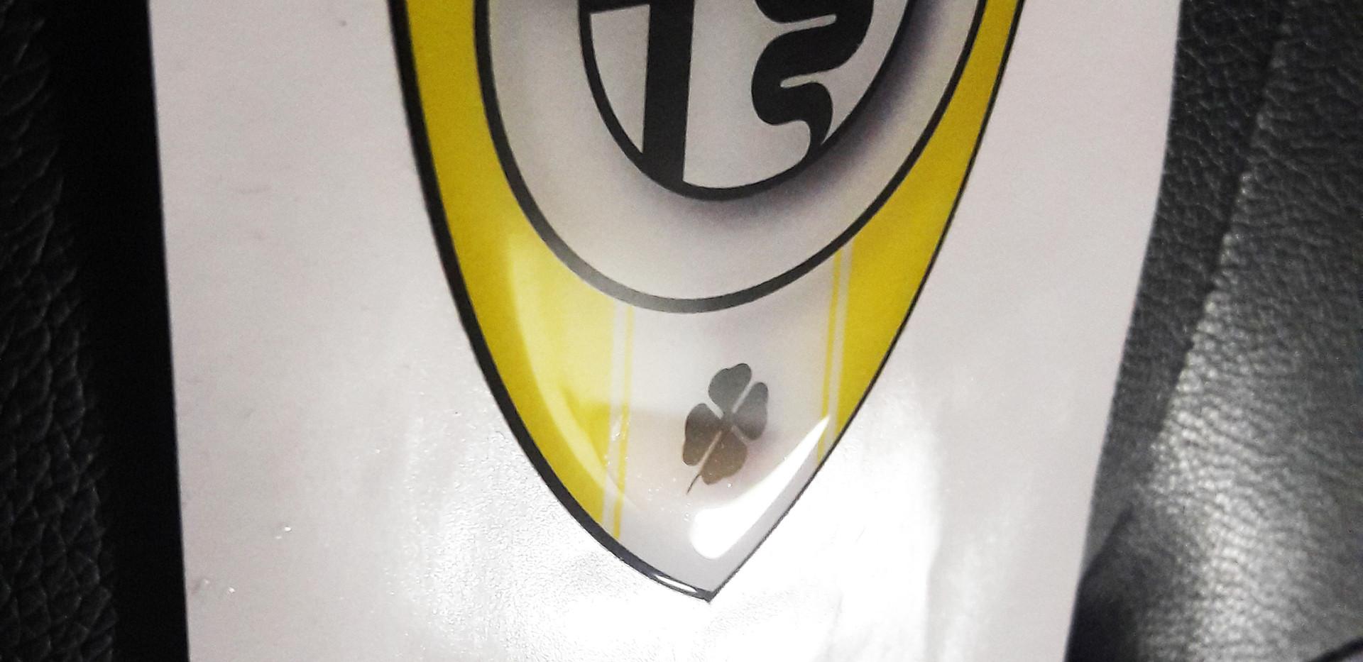 alfa-romeo-sticker-3d-badge-decal-YELLOW