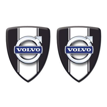 Volvo Black Shield x2pcs s.n: V0601